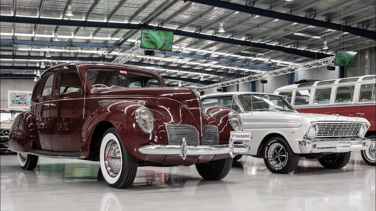 Ford and Lincoln American Classics - 2018 Shannons Melbourne Spring Classic Auction