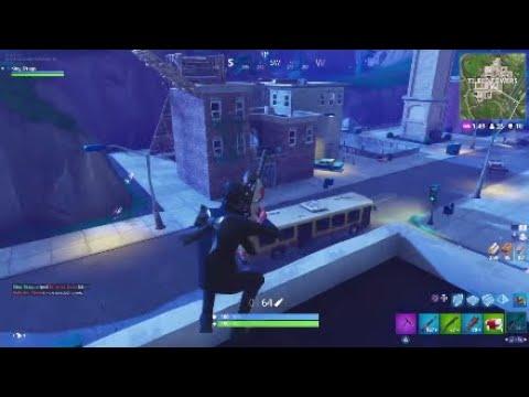 Tilted Towers Destruction