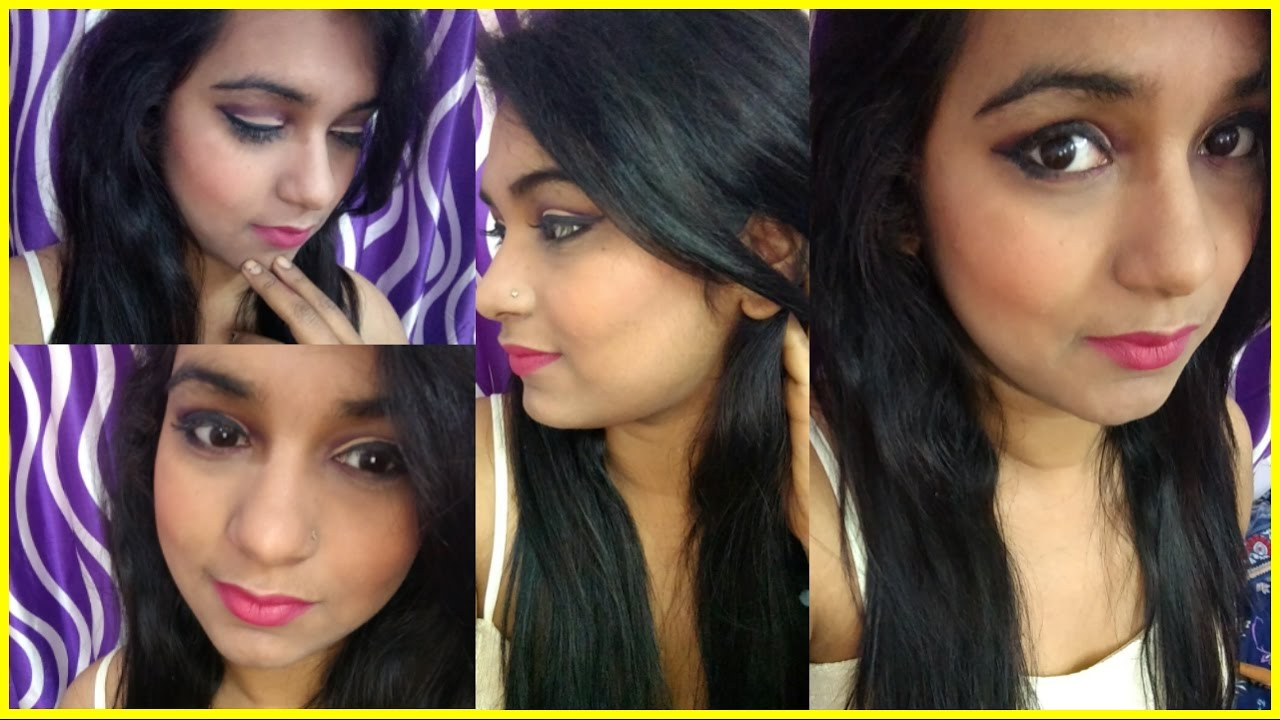 new year party look party makeup look pink neutral party