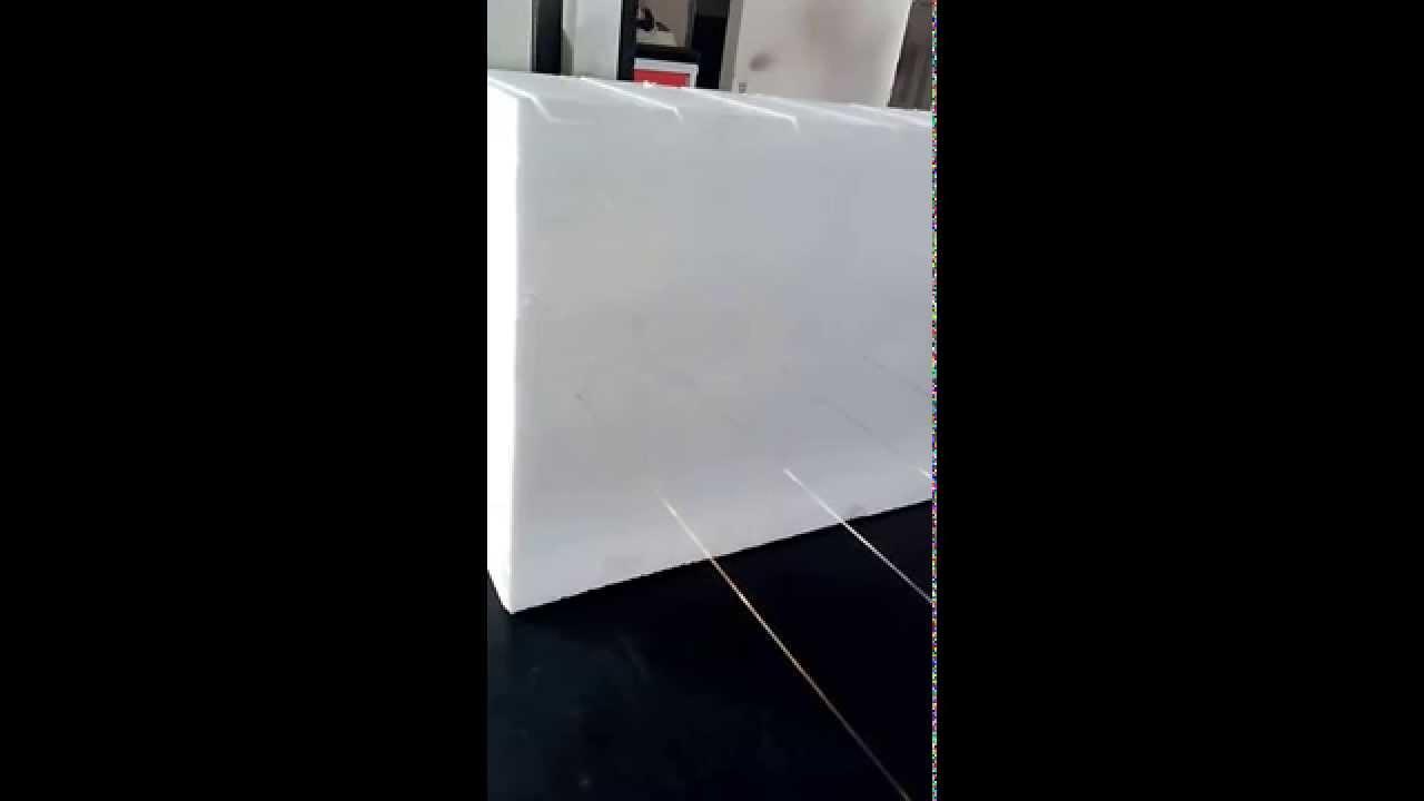 6 wires hot wire eps polyurethane styrofoam foam cutting machine ...