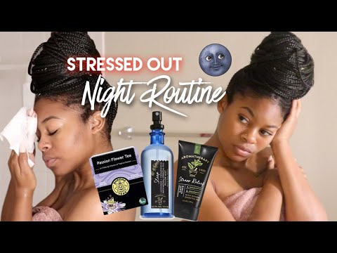 My Night Routine After A Stressful Day   Relieve Anxiety & Relax