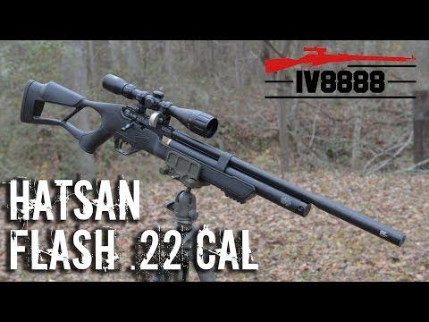 New for 2018: Hatsan Flash .22 Caliber PCP Air Rifle