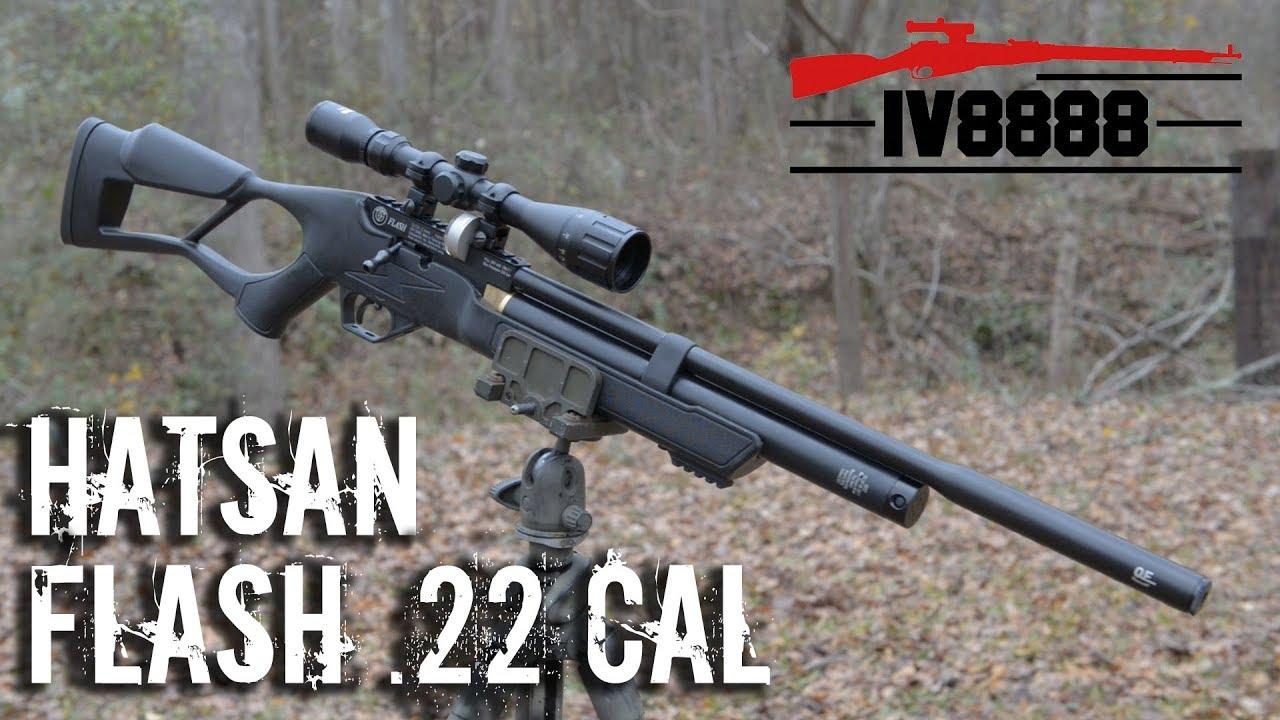 55004513d New for 2018: Hatsan Flash .22 Caliber PCP Air Rifle - YouTube