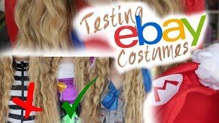 TESTING EBAY HALLOWEEN COSTUMES! UNDER £10! TRYING ON.  //SimplyEmmie