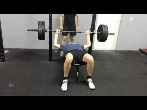 Personal record bench press 70 kg
