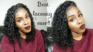 ElvaHAIR ALIEXPRESS //BEST WIG EVER!! Short 13x6 Lace Front Human Hair Wigs Pre Plucked