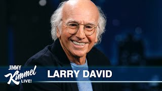 Larry David on Showing Up at Jimmy Kimmel's House on the Wrong Day, His Best Friend  Return of Curb