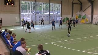 No.11 of the KSLI handball team - left back Oleg (U16). Generation Handball 2018