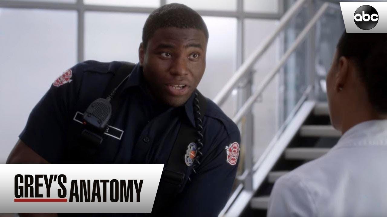 Dean Asks Maggie Out Greys Anatomy Season 15 Episode 4 Youtube