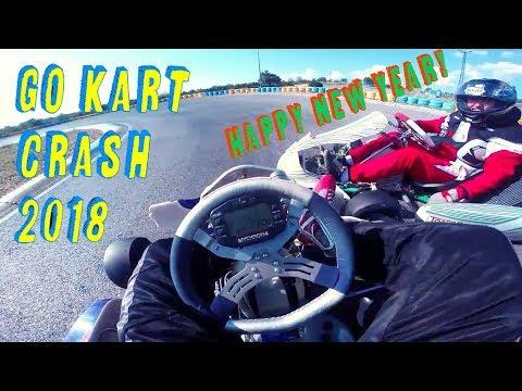 GO KART CRASH compilation 2018 ❤ Happy new year!#11