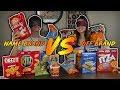 NAME BRAND vs. OFF BRAND FOOD (BLIND TASTE TEST)