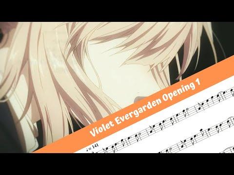 Violet Evergarden Opening 1 (Flute)
