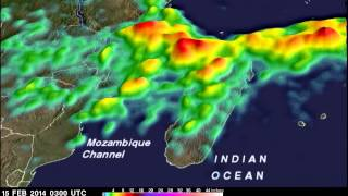 TRMM Sees Rainfall Totals from Tropical Cyclone Guito