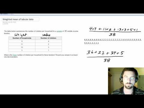 Weighted mean of tabular data short version.mp4