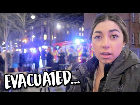 Evacuating Our Hotel In Denmark... | Jeanine Amapola
