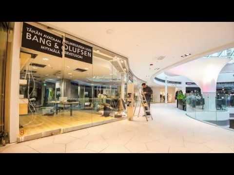 New Bang & Olufsen Shop Helsinki Finland
