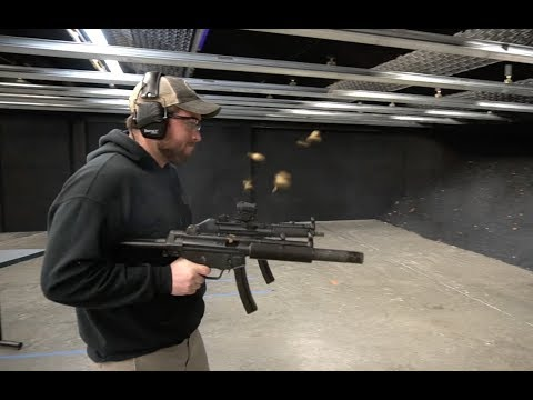 H&K Mp5 Showdown, Full-Auto Machine Gun Rentals