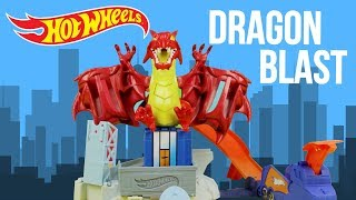 Hot Wheels Dragon Blast Play set Unboxing Review | SuperKidsToys Video
