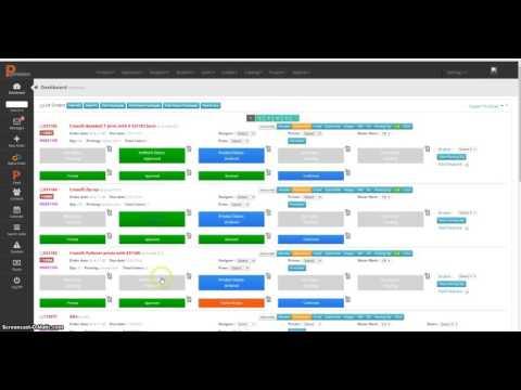 Screenprinting Printexion Order Management