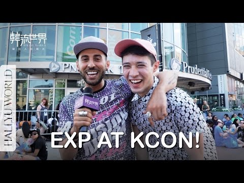 KCON 2016 NY: EXP's Frankie and Koki SING for you
