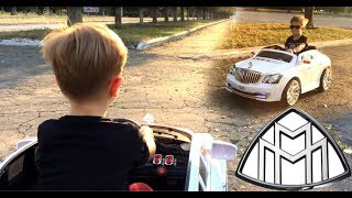 The POWER WHEEL Ride Maybach. Video for Kids. Видео для детей.