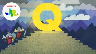 Letter Q | StoryBots ABC Alphabet For Kids | Netflix Jr
