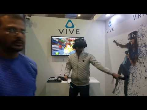 HTC Vive VR Live Experience @ India Gaming Show 2017