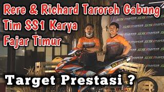 Rere & Richard Taroreh Gabung Tim SS1 Karya Fajar Timur, Target Prestasi ?