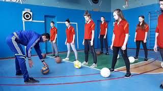 Інноваційний урок з  фізичної  культури,  баскетбол, 8 клас