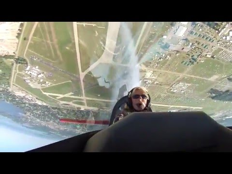 Patty Wagstaff Ride Along - In Cockpit - EAA AirVenture Oshkosh 2015 Saturday