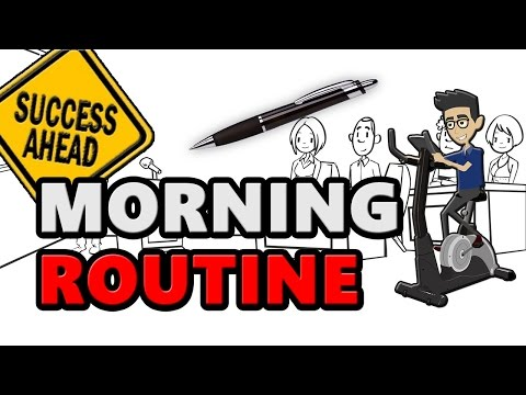 Morning Routine School And Work - Morning Miracle By Hal Elrod
