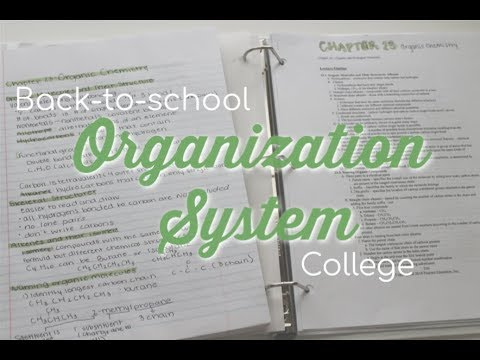 school organization system binder setup, folder, notebook (back-to-school)