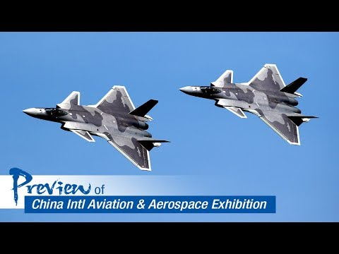 Live: Preview of China Intl Aviation & Aerospace Exhibition 第十二届中国航展抢先看