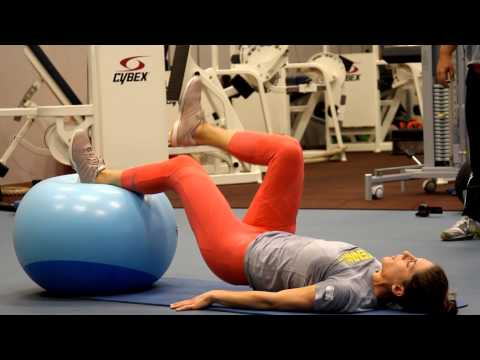 Andrea Petkovic athletic training at the Tennis-University