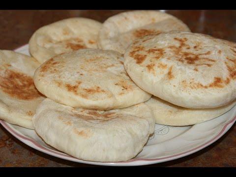 pain-pita-100%-réussie---pita-bread---مخمار