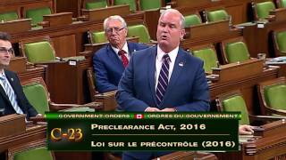 Liberals Fumble Preclearance Bill, Failing to Stand Up for Canadians (June 21, 2017)
