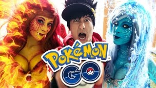 pokmon go in real life   julien bam