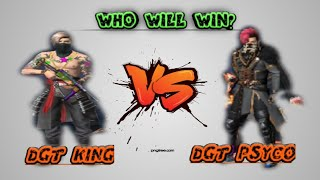 DGT KING vs DGT PYSICO free fire 1 vs 1 in Tamil/Tricks and tips/arena fire