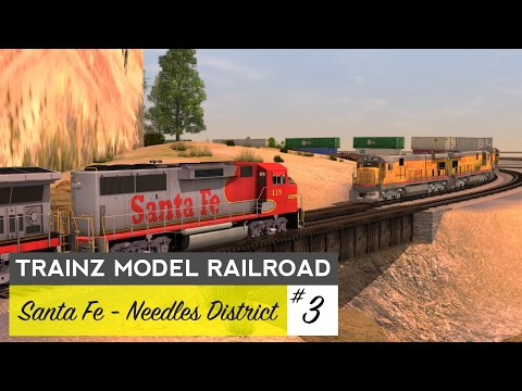 Trainz Model Railroad #3 – Needles District
