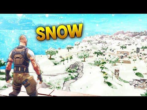 SNOW Biome Coming To FORTNITE SEASON 6 ???