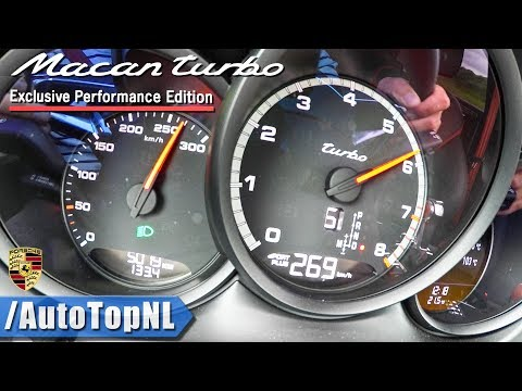 Porsche Macan Turbo Performance 440HP | ACCELERATION & TOP SPEED 0-269km/h by AutoTopNL