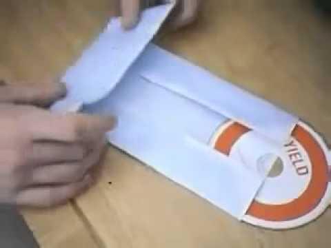 Сделать конверт для диска