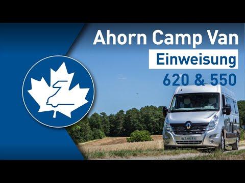 Ahorn Camp Van 620 und 550