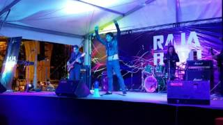 The Rudean performing Intro + Palsu - RajaBand 2015