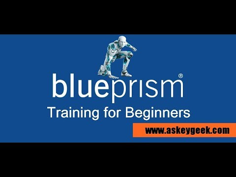 RPA Tutorial: Blue Prism tutorial for beginners