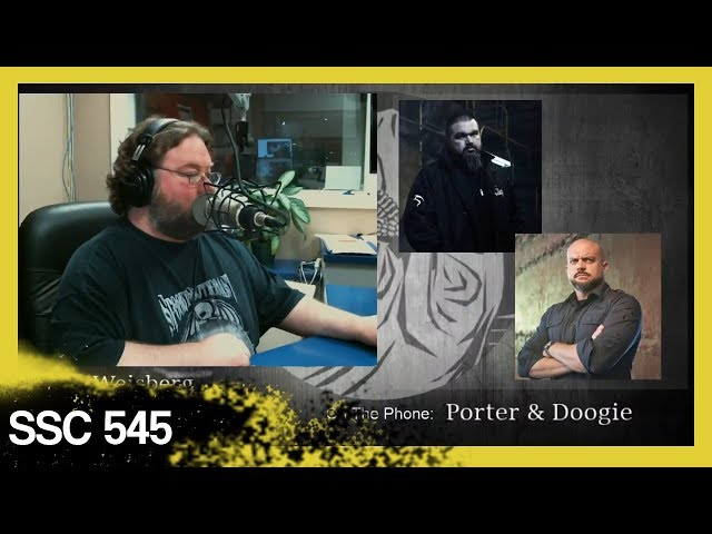Doogie and Most Haunted Towns LIVE Show│ SSC 545