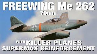 Freewing Messerschmitt Me 262  - Mustangs Beware
