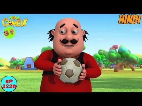 Motu Patlu Ball Game - Motu Patlu in Hindi - 3D Animated cartoon series for kids - As on Nick
