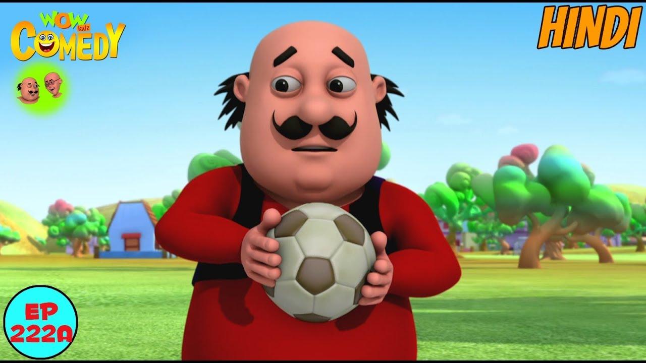 Motu Patlu Ball Game Motu Patlu In Hindi 3d Animated Cartoon