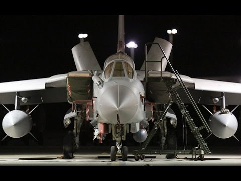 RAF Tornado jets make first bombing runs over Syria